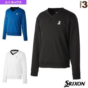 スリクソン テニス・バドミントンウェア(メンズ/ユニ)  Vネックプルオーバー/クラブライン/ユニセックス(SDF-5001)|racket