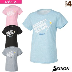 スリクソン テニス・バドミントンウェア(レディース)  Tシャツ/ツアーライン/レディース(SDL-8020W)|racket