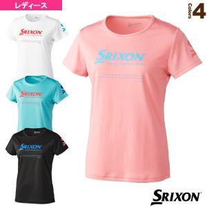 スリクソン テニス・バドミントンウェア(レディース)  Tシャツ/クラブライン/レディース(SDL-8023W)|racket