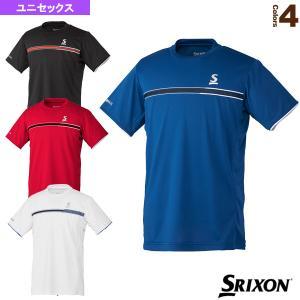 スリクソン テニス・バドミントンウェア(メンズ/ユニ)  ゲームシャツ/クラブライン/ユニセックス(SDP-1006)|racket