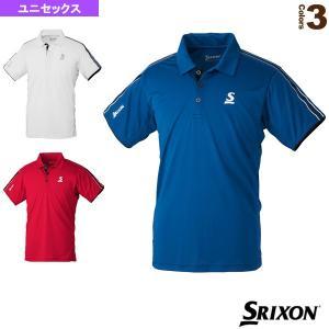 スリクソン テニス・バドミントンウェア(メンズ/ユニ)  ポロシャツ/クラブライン/ユニセックス(SDP-1007)|racket