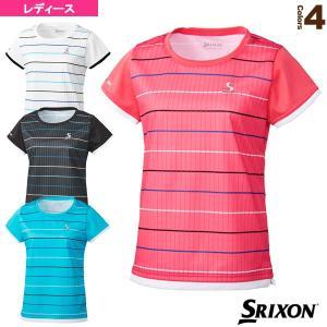スリクソン テニス・バドミントンウェア(レディース)  ゲームシャツ/ツアーライン/レディース(SDP-1025W)|racket