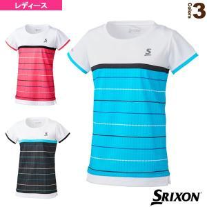 スリクソン テニス・バドミントンウェア(レディース)  ゲームシャツ/ツアーライン/レディース(SDP-1026W)|racket