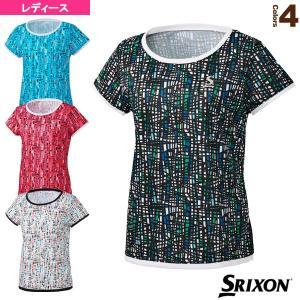 スリクソン テニス・バドミントンウェア(レディース)  ゲームシャツ/ツアーライン/レディース(SDP-1027W)|racket