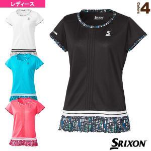 スリクソン テニス・バドミントンウェア(レディース)  ゲームシャツ/ツアーライン/レディース(SDP-1028W)|racket