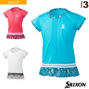 スリクソン テニスジュニアグッズ  ゲームシャツ/ツアーライン/ガールズ(SDP-1028WJ)|racket