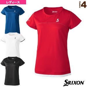 スリクソン テニス・バドミントンウェア(レディース)  ゲームシャツ/クラブライン/レディース(SDP-1029W)|racket
