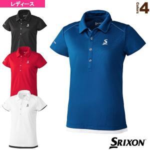スリクソン テニス・バドミントンウェア(レディース)  ポロシャツ/クラブライン/レディース(SDP-1030W)|racket