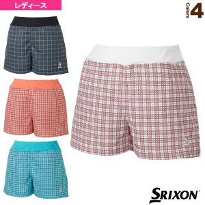 スリクソン テニス・バドミントンウェア(レディース)  ゲームショーツ/ツアーライン/レディース(SDS-2996W)|racket