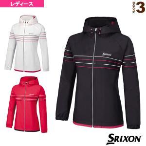 スリクソン テニス・バドミントンウェア(レディース)  TEAM LINE/ウインドジャケット/レデ...