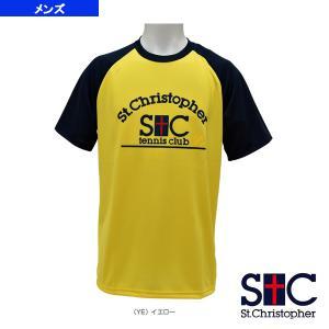 セントクリストファー テニス・バドミントンウェア(メンズ/ユニ)  アーチロゴ ラグランTシャツ/メンズ(STC-AGM5053)|racket