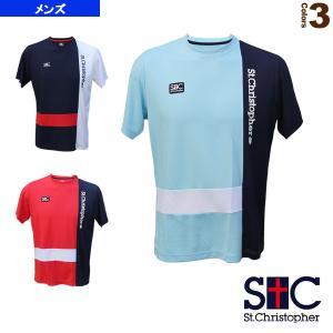 セントクリストファー テニス・バドミントン ウェア(メンズ/ユニ)  ブロックプラクティスT/メンズ(STC-BAM1253)|racket