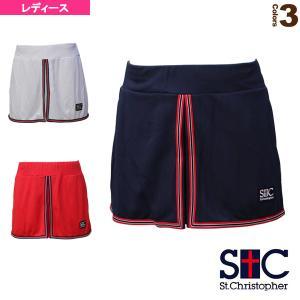 セントクリストファー テニス・バドミントン ウェア(レディース)  ラインドゲームスコート/レディース(STC-BAW2242)|racket
