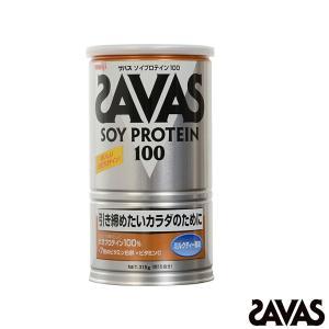 SAVAS オールスポーツサプリメント・ドリンク  ザバス ソイプロテイン100 15食分/315g...