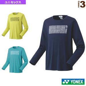 ヨネックス テニス・バドミントン ウェア(メンズ/ユニ)  ロングスリーブTシャツ/フィットスタイル/ユニセックス(16553) racket