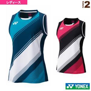 ヨネックス テニス・バドミントン ウェア(レディース)  ゲームシャツ/ノースリーブ/レディース(20602Y) racket
