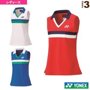 ヨネックス テニス・バドミントン ウェア(レディース)  75THゲームシャツ/ノースリーブ/レディース(20627A) racket