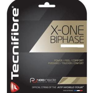 『12mカット品』テクニファイバー(Tecnifibre) X−ONE BIPHASE 124(カラ...
