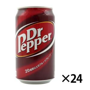 ドクターペッパー 350ml缶 入数24 炭酸飲料 ソフトドリンク 缶ジュース コカ・コーラ【条件付き送料無料】|racooldepo