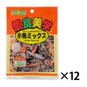個食美学 小魚ミックス 27g 入数12個【条件付き送料無料】|racooldepo