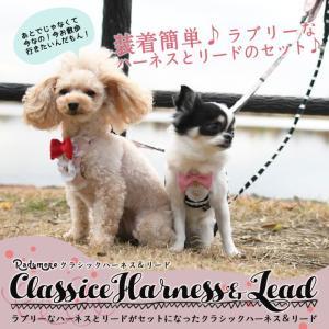 SALE セール 犬 ハーネス ラディカ  クラシックハーネス&リード S M Lサイズ  犬の胴輪 1点のみメール便選択可 radica 02