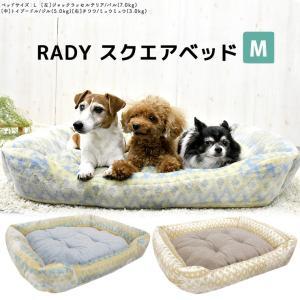SALE セール 犬 ベッド ラディカ RADYスクエアベッド Mサイズ クッション メール便不可
