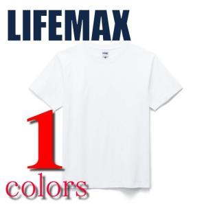 Tシャツ 無地 ライフマックスLIFEMAX/6.2ozヘビーウェイト半袖 無地Tシャツ ホワイト|radio-flyer