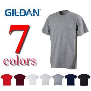 ギルダンGILDAN/6.0ozウルトラコットンポケットTシャツ/メンズ 2300