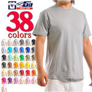 Tシャツ 無地 タッチアンドゴーTouch and GO/6.2ozヘビーウェイト半袖 無地Tシャツ SS1030
