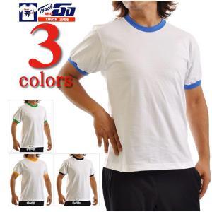 Tシャツ無地 タッチアンドゴーTouch and GO/6.2ozトリム半袖Tシャツ/メンズ|radio-flyer