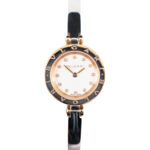 【BVLGARI】Bzero1 ビーゼロワン ブルガリ ダイヤ12P BZP23SG  ステンレス美品 腕時計 レディース クオーツ raftelshop