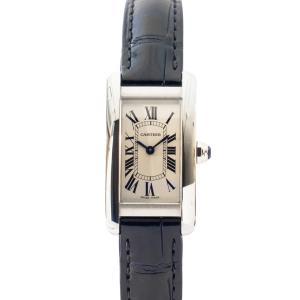 【CARTIER】カルティエ  タンクアメリカンSM WSTA0016 クオーツ 美品 腕時計 レディース raftelshop