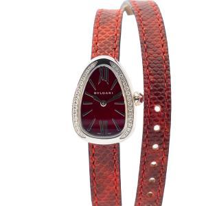 【BVLGARI】ブルガリ セルペンティ SPS27C9SDL   クオーツ 美品 腕時計 レディース raftelshop