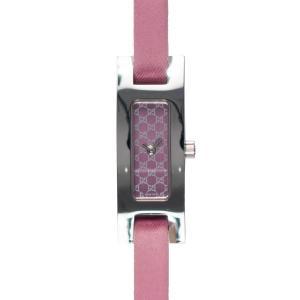 【GUCCI】グッチ 3900L  ピンクレザー×ステンレス レディース腕時計|raftelshop