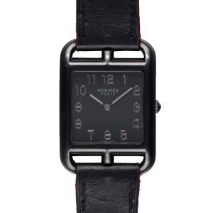 【HERMES】エルメス CC3.711 ケープコッドGM シャドウ  メンズ腕時計 raftelshop