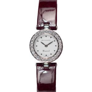 【BVLGARI】ブルガリ BZ22WSDL B.zero1 ビーゼロワン エナメルレザー ワインレッド 腕時計 レディース raftelshop