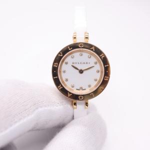 【BVLGARI】ブルガリ  BZP23SGC  B-ZERO1 ビーゼロワン 12Pダイヤ 美品 腕時計 レディース raftelshop