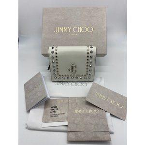 【Jimmy Choo】ジミーチュウ スタッズ 二つ折り財布 raftelshop