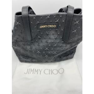 【Jimmy Choo】ジミーチュウ スターエンボス ソフィア レザー トートバッグ raftelshop