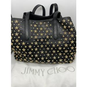 【Jimmy Choo】ジミーチュウ ソフィア スタースタッズ レザー ハンドバッグ ブラック raftelshop