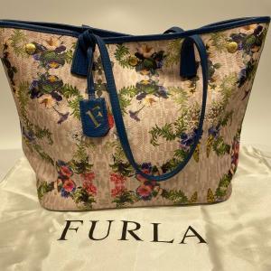 【FURLA】フルラ トートバッグ 花柄 フラワー raftelshop
