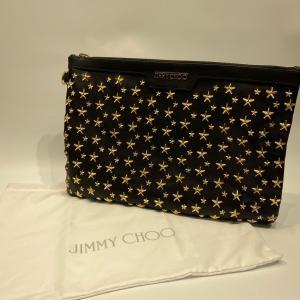 【Jimmy Choo】ジミーチュウ スタッズ クラッチバッグ  raftelshop