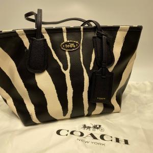 【COACH】コーチ ゼブラ トートバッグ |raftelshop