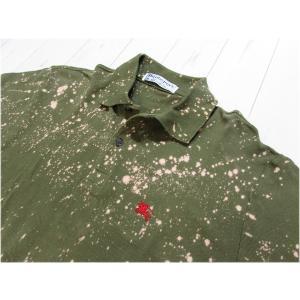 Burberrys バーバリー ポロシャツ 半袖 M カーキ TS14F-092
