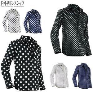 シャツ メンズ ドット柄 長袖 7分袖 七分袖 半袖 水玉 ドレスシャツ 日本製 804032|rag001
