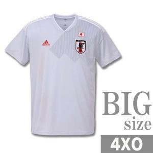 ユニフォーム サッカー メンズ 半袖 tシャツ adidas アディダス 大きいサイズ 日本代表 C...