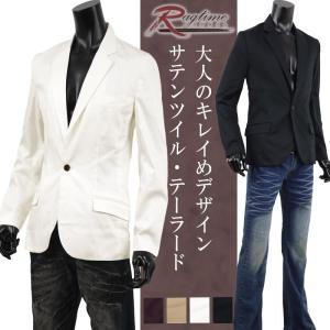 テーラードジャケット メンズ ジャケット ブレザー 白 黒 春 夏 秋 冬 FT-O137008 rag001