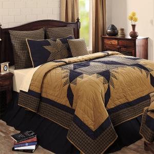 ベッドカバー ネイビースターキングキルト、とってもお買い得です。大きなサイズで、こたつ掛けやソファー...