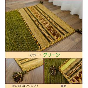 玄関マット キリム 室内 屋内 50×80 ラグ ラグマット おしゃれ 手織りインド キリム エスニック|ragmatst|05