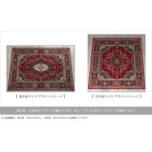 これは必見! 絨毯 じゅうたん 235×320 約 6畳 用 レッド 赤 ラグマット ペルシャ絨毯 柄 ベルギー絨毯|ragmatst|06